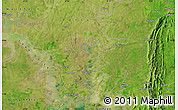 "Satellite Map of the area around 8°2'17""N,0°4'30""E"