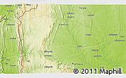 Physical 3D Map of Baté