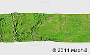 "Satellite Panoramic Map of the area around 8°2'17""N,0°55'29""E"