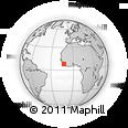 Outline Map of Mobimbi, rectangular outline