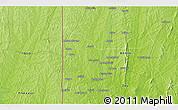 Physical 3D Map of Sabalouagba