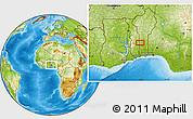 Physical Location Map of Ekpaogan