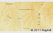 Physical 3D Map of Akochio