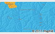 Political 3D Map of Akochio