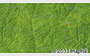 Satellite 3D Map of Akochio