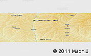 Physical Panoramic Map of Pendé
