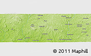 """Physical Panoramic Map of the area around 8°2'17""""N,3°28'30""""E"""