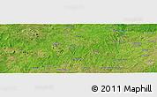 "Satellite Panoramic Map of the area around 8°2'17""N,3°28'30""E"