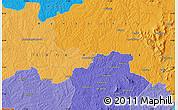 Political Map of Tanda