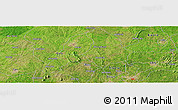 Satellite Panoramic Map of Ejigbo