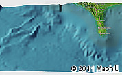 Satellite 3D Map of Puerto Armuelles
