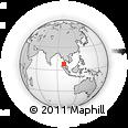Outline Map of Banyan Tree Phuket, rectangular outline