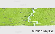 Physical Panoramic Map of Gokoron
