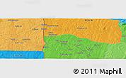 Political Panoramic Map of Faïmbé