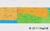Political Panoramic Map of Koko