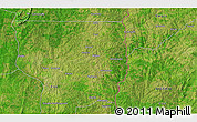 """Satellite 3D Map of the area around 8°33'36""""N,2°37'30""""E"""