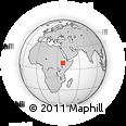 Outline Map of Welkite, rectangular outline