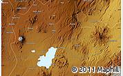 Physical Map of Nazrēt