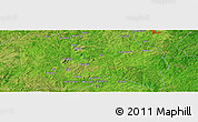 Satellite Panoramic Map of Ago Are