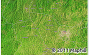 "Satellite Map of the area around 8°33'36""N,4°19'30""E"