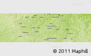 Physical Panoramic Map of Alapa