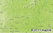 Physical Map of Kouroumanbira