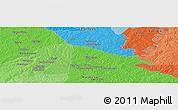 Political Panoramic Map of Bisidougou