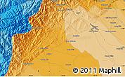Political Map of Barinas