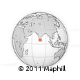 Outline Map of Chalai, rectangular outline