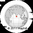 Outline Map of Tirunelveli, rectangular outline