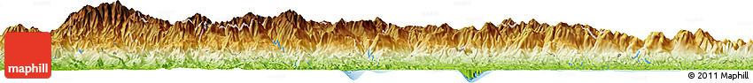 Physical Horizon Map of Cañazas