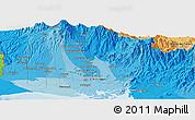 Political Panoramic Map of La Concepción
