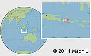 "Savanna Style Location Map of the area around 8°12'42""S,115°40'30""E"