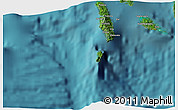 """Satellite 3D Map of the area around 8°12'42""""S,156°28'29""""E"""