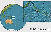 "Satellite Location Map of the area around 8°12'42""S,156°28'29""E"