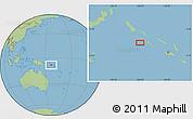 "Savanna Style Location Map of the area around 8°12'42""S,156°28'29""E"