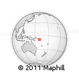 Outline Map of Buala, rectangular outline