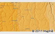 Political 3D Map of Chacala Sacanena