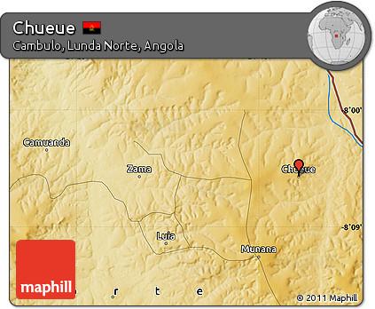 Physical Map of Chueue
