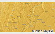 Physical 3D Map of Zaila