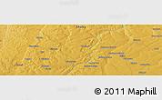 Physical Panoramic Map of Zaila