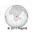 Outline Map of Malemba-Nkulu, rectangular outline