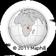 Outline Map of Kaputa, rectangular outline