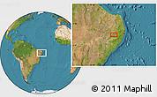 "Satellite Location Map of the area around 8°12'42""S,36°28'30""W"