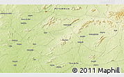 Physical 3D Map of Ipueira