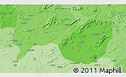 Political 3D Map of Ipueira