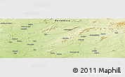 Physical Panoramic Map of Betânia
