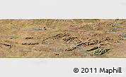 Satellite Panoramic Map of Salgueiro