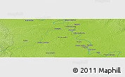 "Physical Panoramic Map of the area around 8° 12' 42"" S, 74° 43' 29"" W"