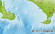 Physical Map of Bualu
